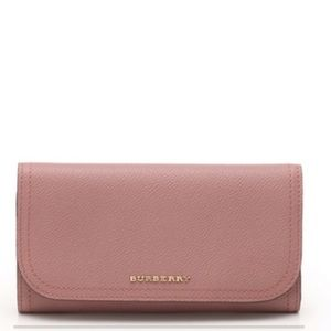 Burberry long wallet- Authentic